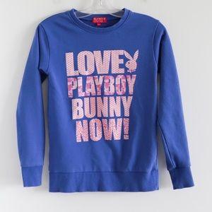 Playboy Bunny Love sweatshirt cotton large print